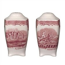 Old Britain Castles Pink Salt & Pepper Set
