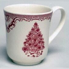 Old Britain Castles Pink Christmas Mug (Set of 4)
