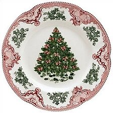 Old Britain Castles Christmas Dinner Plate (Set of 4)