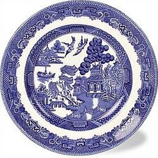 <strong>Johnson Brothers</strong> Willow Blue Dinner Plate