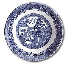 "Willow Blue 5.25"" Fruit Saucer"