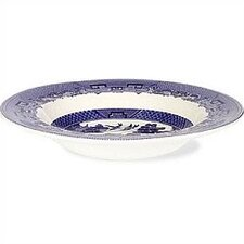 Willow Blue Rim Soup / Pasta Bowl