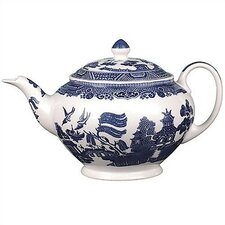 <strong>Johnson Brothers</strong> Willow Blue Teapot