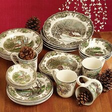 Friendly Village Dinnerware Set