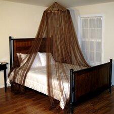 Oasis Round Hoop Sheer Bed Canopy Net