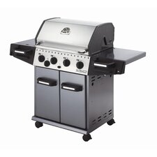 "11.5"" Rebel Propane Gas Grill with Sure-Lite Electronic Ignition"