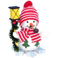 Snowman with Lantern Incense Burner