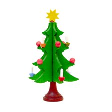Christmas Tree with Candles Ornaments