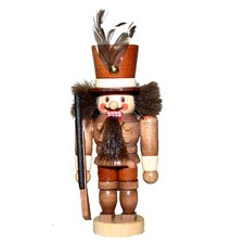 Natural Light Wood Mini Solider Nutcracker