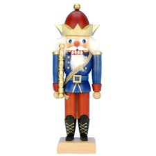 King with Gold Crown Nutcracker