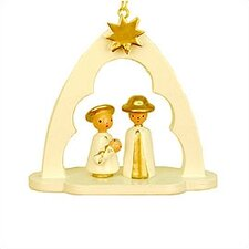 Holy Family in Arch Ornament
