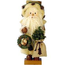 Tweedy Santa Nutcracker