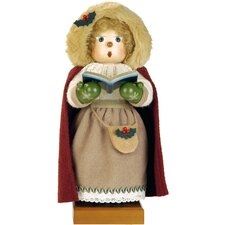 Caroling Woman Nutcracker