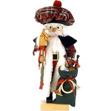 Scottish Santa Nutcracker