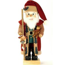 Santa and Clock Nutcracker