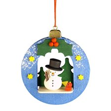 Snowman Ball Ornament
