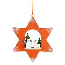 Angel Star Ornament