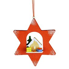 Gingerbread Star Ornament