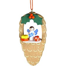 Angel Pinecone Ornament