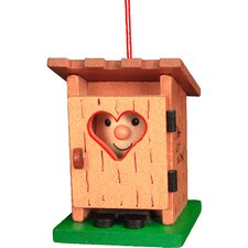 <strong>Christian Ulbricht</strong> Outhouse Ornament