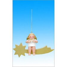 Angel in Comet Ornament
