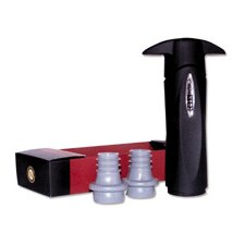 Nicholas Vacuum Wine Saver with Two Stoppers