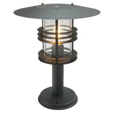 Stockholm 1 Light Outdoor Pedestal Lantern