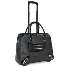 Multi Textured Roller Briefcase