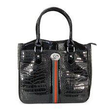 Croco Tape Luggage Compatible Tote Bag