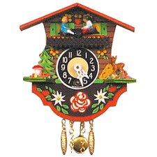 Teeter Totter Chalet Wall Clock