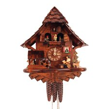 Cuckoo Clock with Beer Drinker and Music