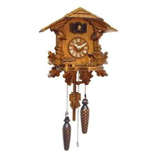 Cuckoo Clock with Leaf Detail and Music