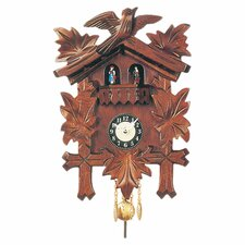 Carved Clock with Movement