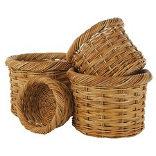 <strong>Eco Displayware</strong> Eco-Friendly Round Basket