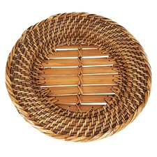 Eco-Friendly Lombok Weave Round Charger