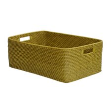 <strong>Eco Displayware</strong> Eco-Friendly Lombok Weave Shelf Basket
