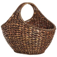 Eco-Friendly Oval Large Basket Lampakanai Twine and Hanada