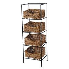 Eco-Friendly 4 Tier Storage Stand