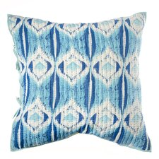Medallion Cotton Pillow Euro Sham
