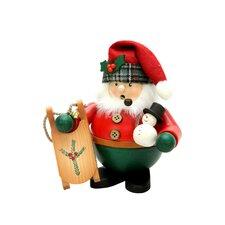 Christian Ulbricht Santa with Sled Incense Burner