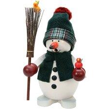 Christian Ulbricht Snowman with Birds Incense Burner