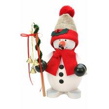 Christian Ulbricht Snowman with Santa Hat Incense Burner