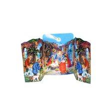 Standing Nativity Advent Calendar