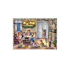 Glitter Small Children Advent Calendar