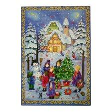Sellmer Outdoor Winter Scene Advent Calendar