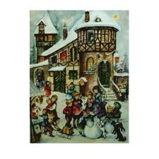 Large Village and Kids Advent Calendar