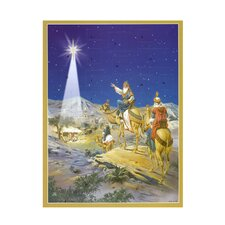 Large 3 Wise Men Advent Calendar