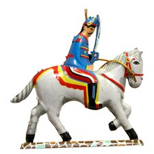 Tin Solider and Horse Ornament