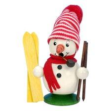Christian Ulbricht Mini-Snowman Skier Smoker Incense Burner