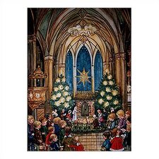 Large Church and Kids Advent Calendar with Bible Verses